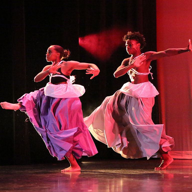 Dancers with the African American Dance Company